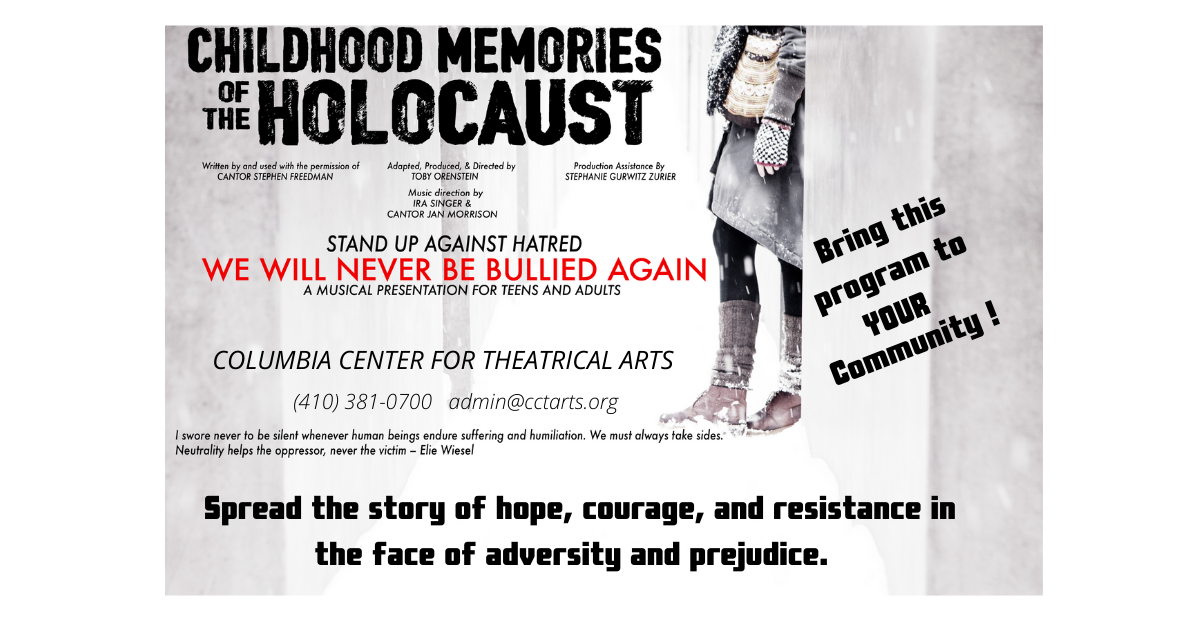 Childhood Memories of the Holocaust Musical Presentation